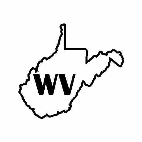 States West Virginia  Vinyl Decal Sticker  Size option will determine the size from the longest side Industry standard high performance calendared vinyl film Cut from Oracle 651 2.5 mil Outdoor durability is 7 years Glossy surface finish