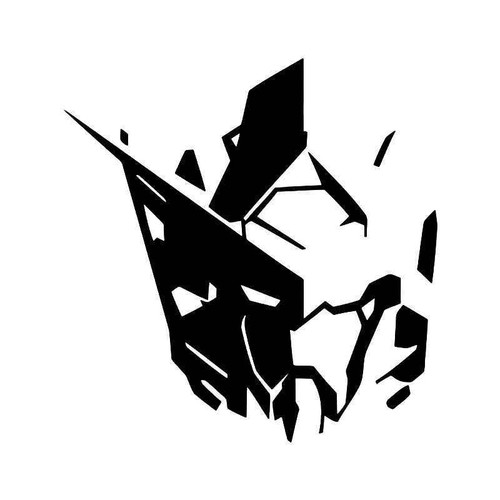 Gundam Anime Vinyl Sticker