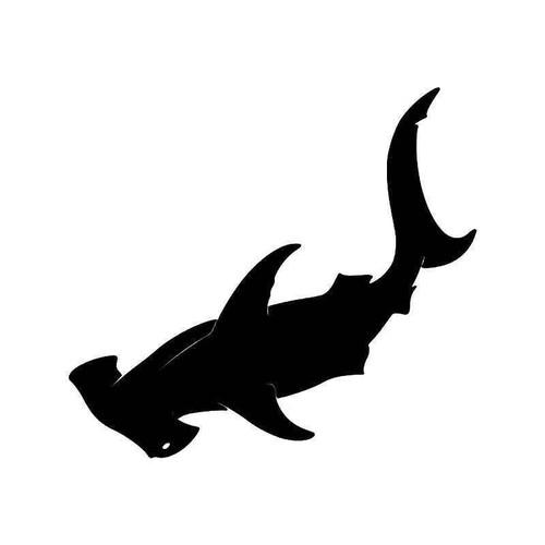 Hammerhead Shark 2 Vinyl Sticker