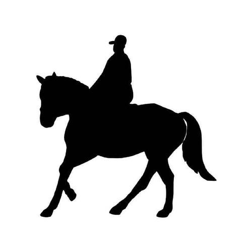 Hanoverian Horse Vinyl Sticker
