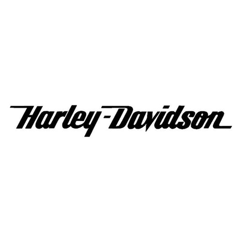 Harley Davidson Script Text
