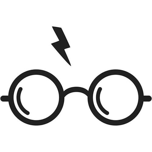 Harry Potter Glasses 458 Vinyl Sticker