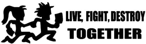 Hatchet Man Live Fight Destroy Together
