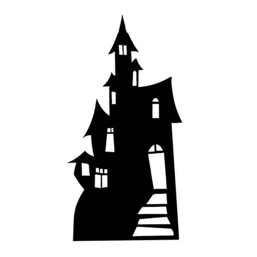 Haunted House 1299 Vinyl Sticker