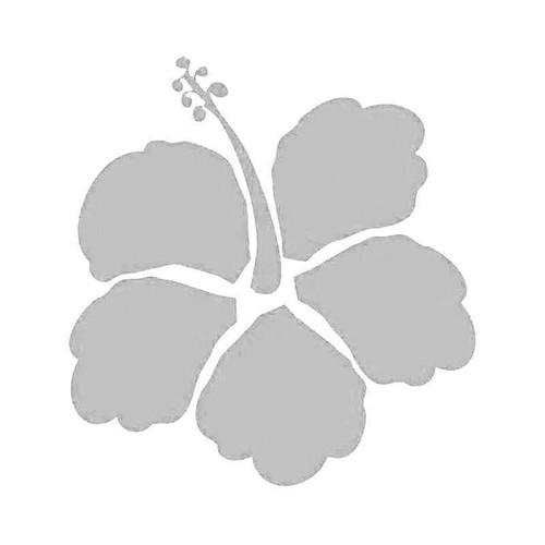 Hawaii Hibiscus Flower 10 Vinyl Sticker