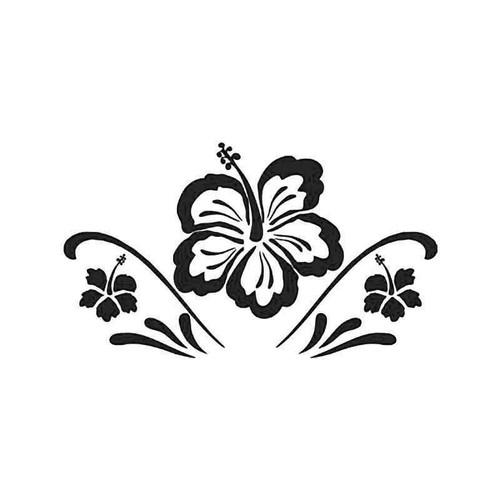 Hawaii Hibiscus Flower 3 Vinyl Sticker