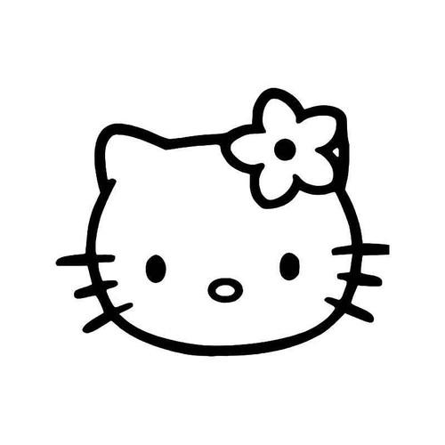 Hello Kitty Vinyl Sticker