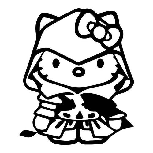 Hello Kitty Assassins Creed Vinyl Sticker