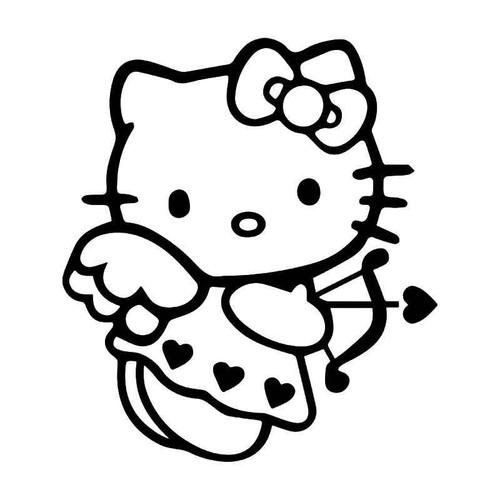 Hello Kitty Cupid Love Vinyl Sticker