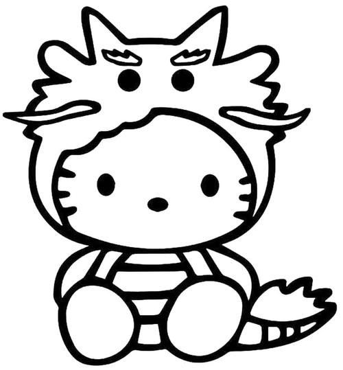 Hello Kitty Dragon