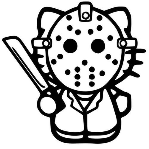 Hello Kitty Jason 1142 Vinyl Sticker
