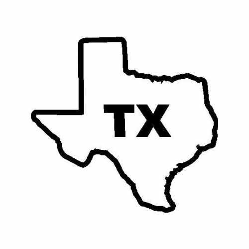 States Texas  Vinyl Decal Sticker  Size option will determine the size from the longest side Industry standard high performance calendared vinyl film Cut from Oracle 651 2.5 mil Outdoor durability is 7 years Glossy surface finish