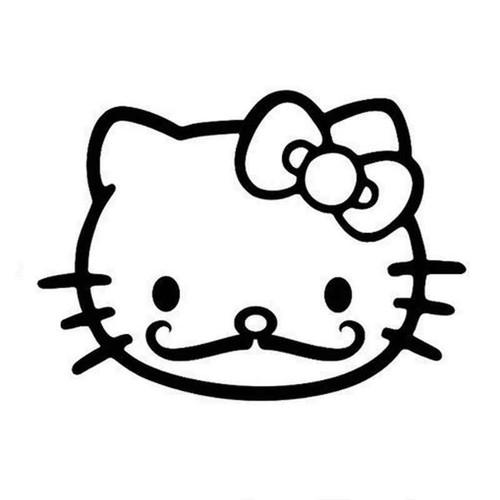 Hello Kitty 755 Vinyl Sticker