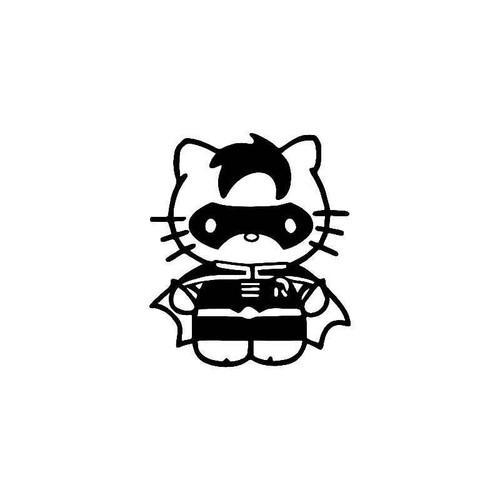 Hello Kitty Robin Batman 2 Vinyl Sticker
