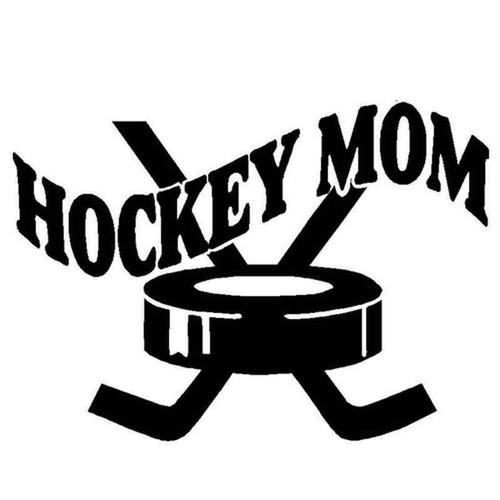 Hockey Mom 1093 Vinyl Sticker