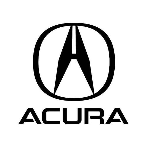 Honda Acura 3 Vinyl Sticker