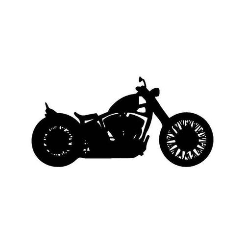Honda Bobber Motorcycle Vinyl Sticker