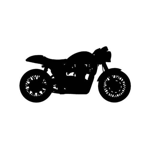 Honda Cafe Racer Motorcycle Vinyl Sticker