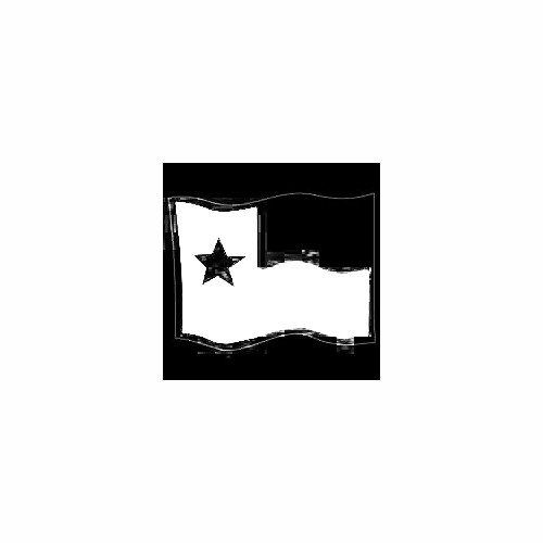 Texas Flag Waving Decal Size option will determine the size from the longest side Industry standard high performance calendared vinyl film Cut from Oracle 651 2.5 mil Outdoor durability is 7 years Glossy surface finish