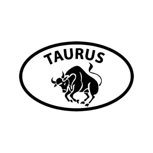 Horoscope Taurus Symbol 2 Vinyl Sticker
