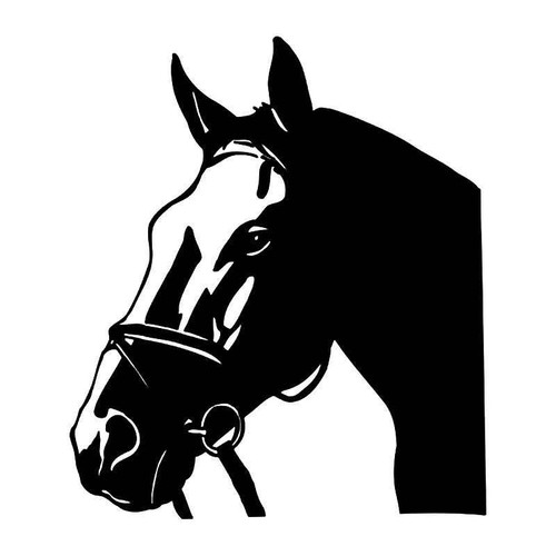 Horse Head 1 Vinyl Sticker