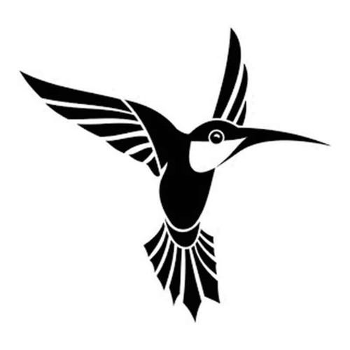 Humming Bird 726 Vinyl Sticker