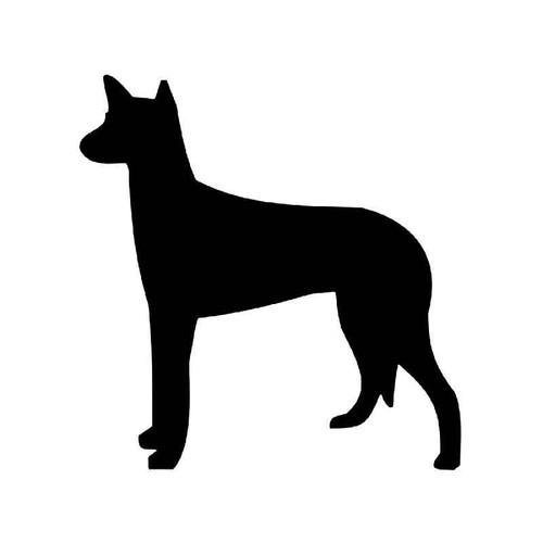 Ibizan Hound Dog Vinyl Sticker