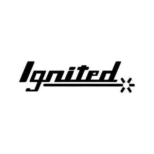 Ignited Vinyl Sticker