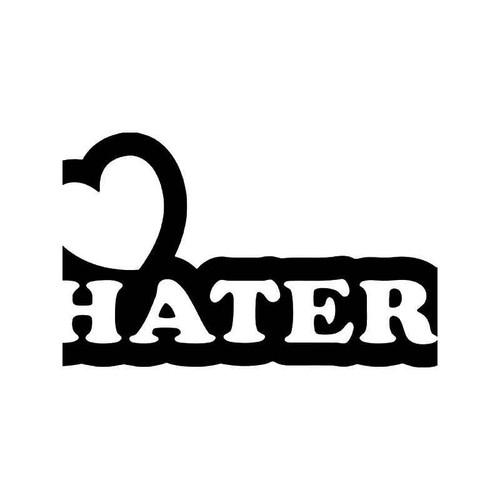 I Love Haters Jdm Japanese 2 Vinyl Sticker