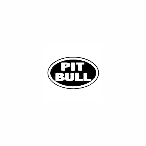 Pit Bull Oval Decal Size option will determine the size from the longest side Industry standard high performance calendared vinyl film Cut from Oracle 651 2.5 mil Outdoor durability is 7 years Glossy surface finish