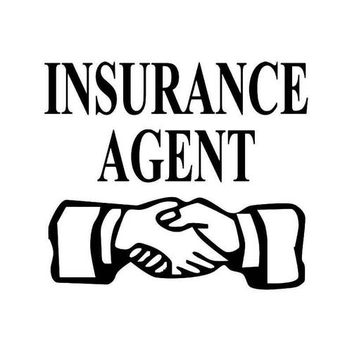 Insurance Agent Vinyl Sticker