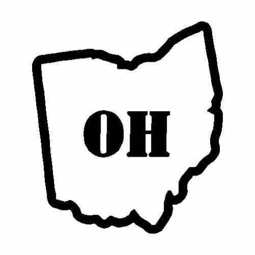 States Ohio  Vinyl Decal Sticker  Size option will determine the size from the longest side Industry standard high performance calendared vinyl film Cut from Oracle 651 2.5 mil Outdoor durability is 7 years Glossy surface finish