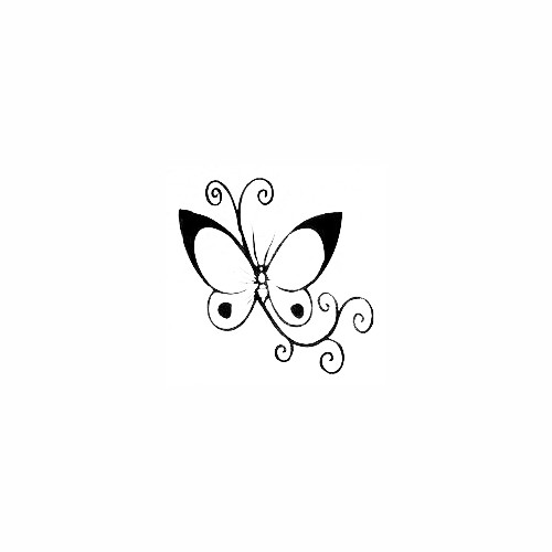 Butterfly Decal (30) Size option will determine the size from the longest side Industry standard high performance calendared vinyl film Cut from Oracle 651 2.5 mil Outdoor durability is 7 years Glossy surface finish
