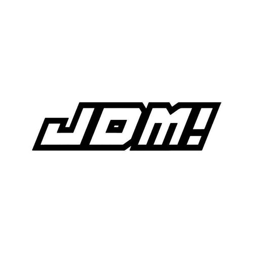 Jdm Japanese Vinyl Sticker