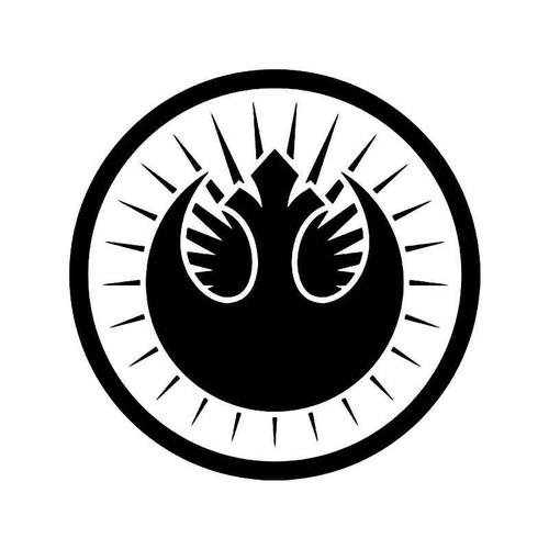 Jedi Order Emblem Vinyl Sticker