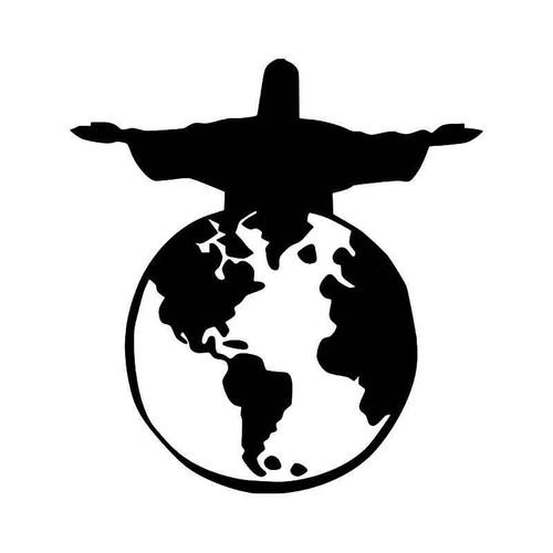 Jesus Cross 2 Vinyl Sticker