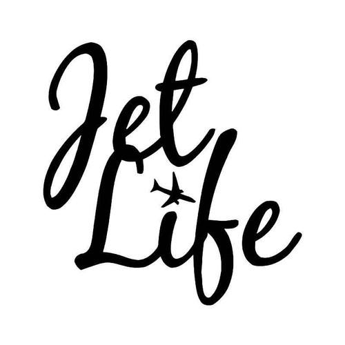 Jet Life Travel Vinyl Sticker
