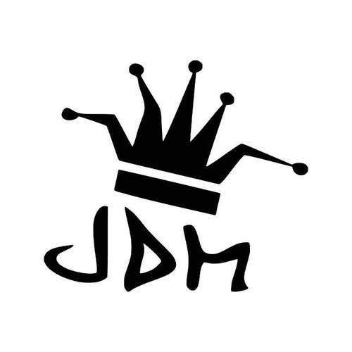 Joker Jester Jdm Japanese Vinyl Sticker
