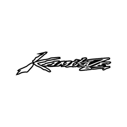 Kamikaze Vinyl Sticker