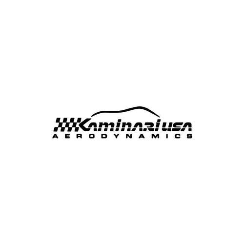Kaminari Usa 1 Vinyl Sticker