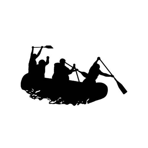 Kayaking Vinyl Sticker