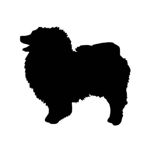 Keeshond Dog Vinyl Sticker
