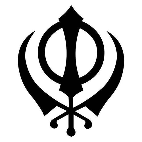 Khanda Sikh Spiritual Vinyl Sticker
