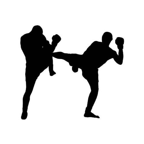 Kickboxing Vinyl Sticker