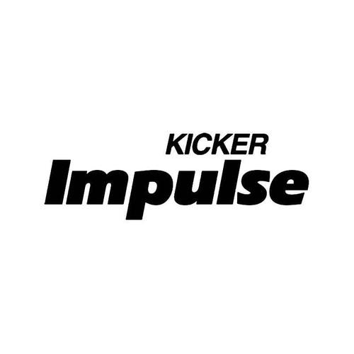 Kicker Impulse Logo Vinyl Sticker