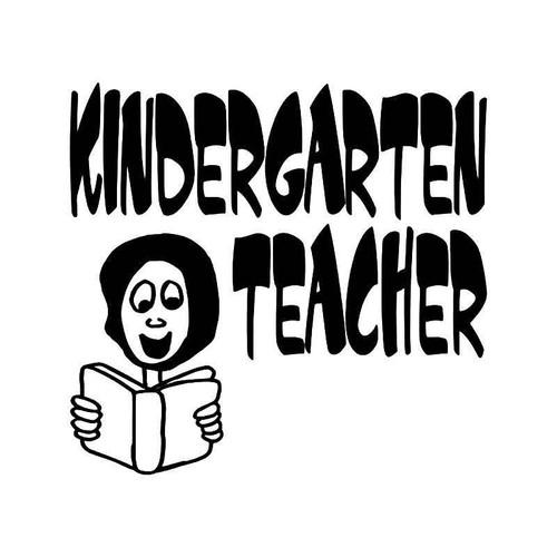Kindergen Teacher Vinyl Sticker