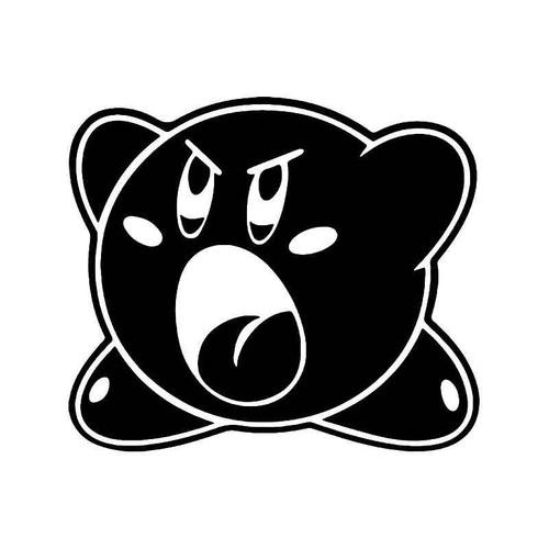 Kirby Shout Gaming Vinyl Sticker