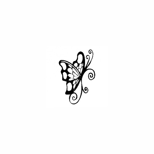 Butterfly Decal (44) Size option will determine the size from the longest side Industry standard high performance calendared vinyl film Cut from Oracle 651 2.5 mil Outdoor durability is 7 years Glossy surface finish