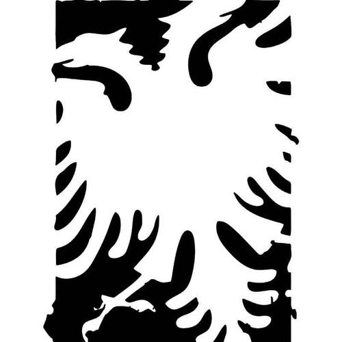 Kosovo Albania Flag Eagle Vinyl Sticker