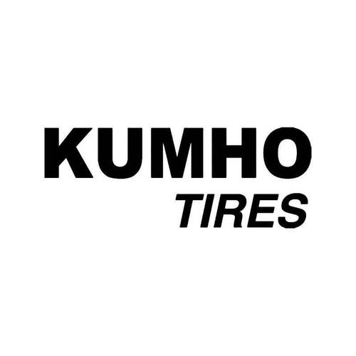 Kumho Tires Vinyl Sticker